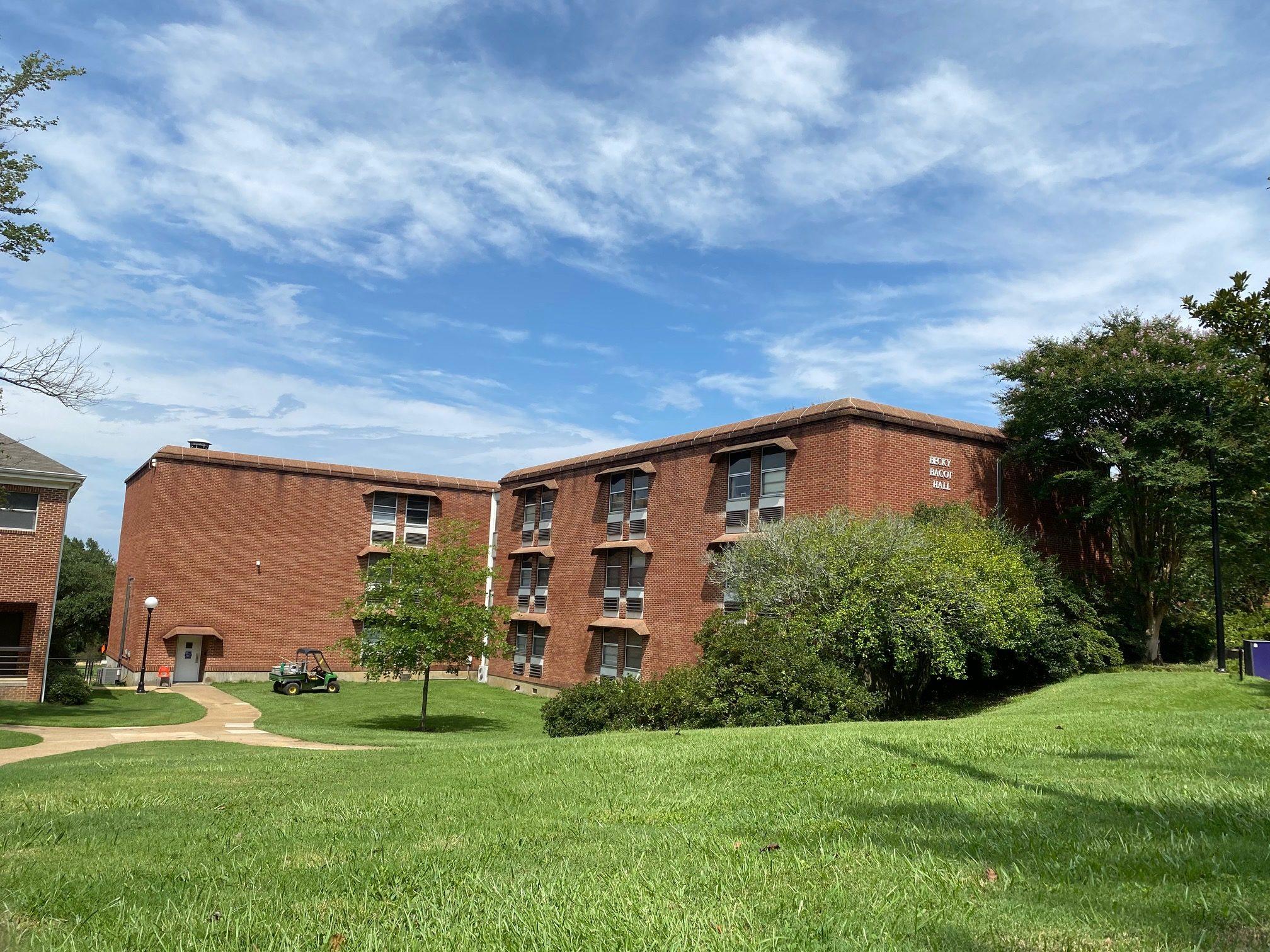 History of Millsaps: Bacot Hall