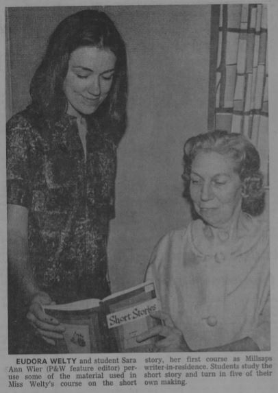 """""""Millsaps' First Integrated Audience: Eudora Welty's 1963 'Powerhouse' Reading"""""""