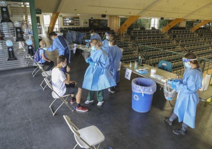 Athlete Coronavirus Testing Types and Procedures